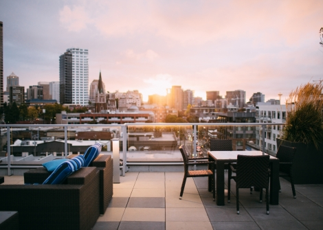 After Work Party - The 5 best rooftop bars in town
